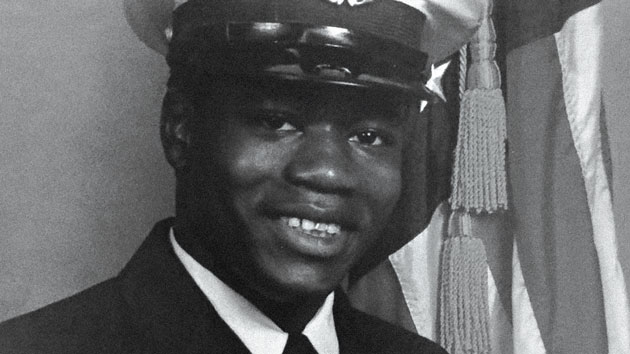 Walter Scott in his Coast Guard days.