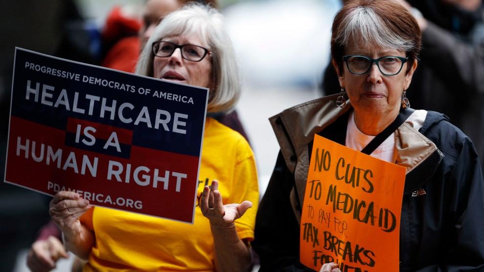 Health Care Protest