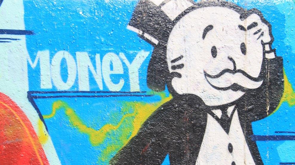 the monopoly man