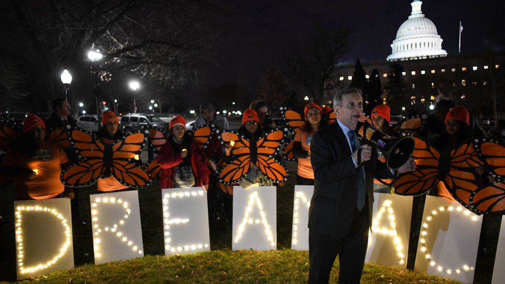 Dick Durbin speaks in support of a DREAM Act
