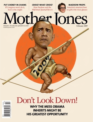 Mother Jones January/February 2009 Issue