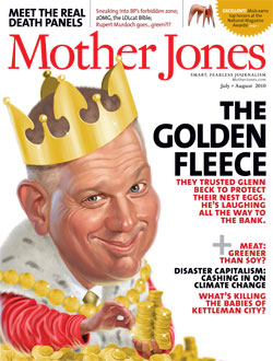 Mother Jones July/August 2010 Issue
