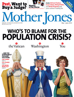 Mother Jones May/June 2010 Issue