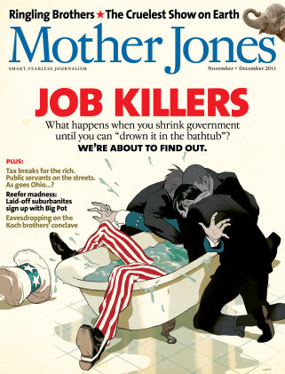 Mother Jones November/December 2011 Issue