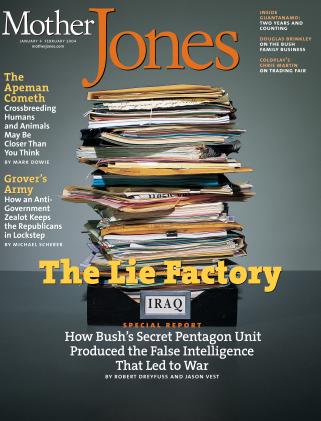 Mother Jones January/February 2004 Issue