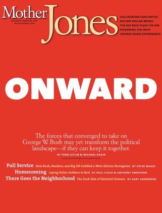 Mother Jones January/February 2005 Issue