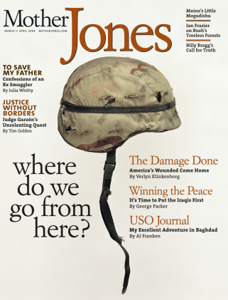 Mother Jones March/April 2004 Issue
