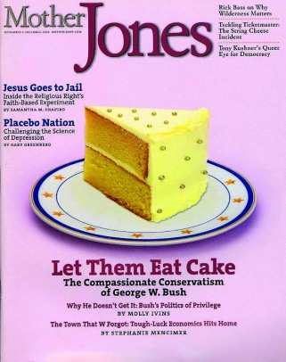 Mother Jones November/December 2003 Issue