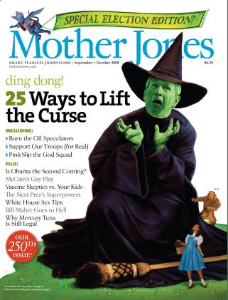 Mother Jones September/October 2008 Issue