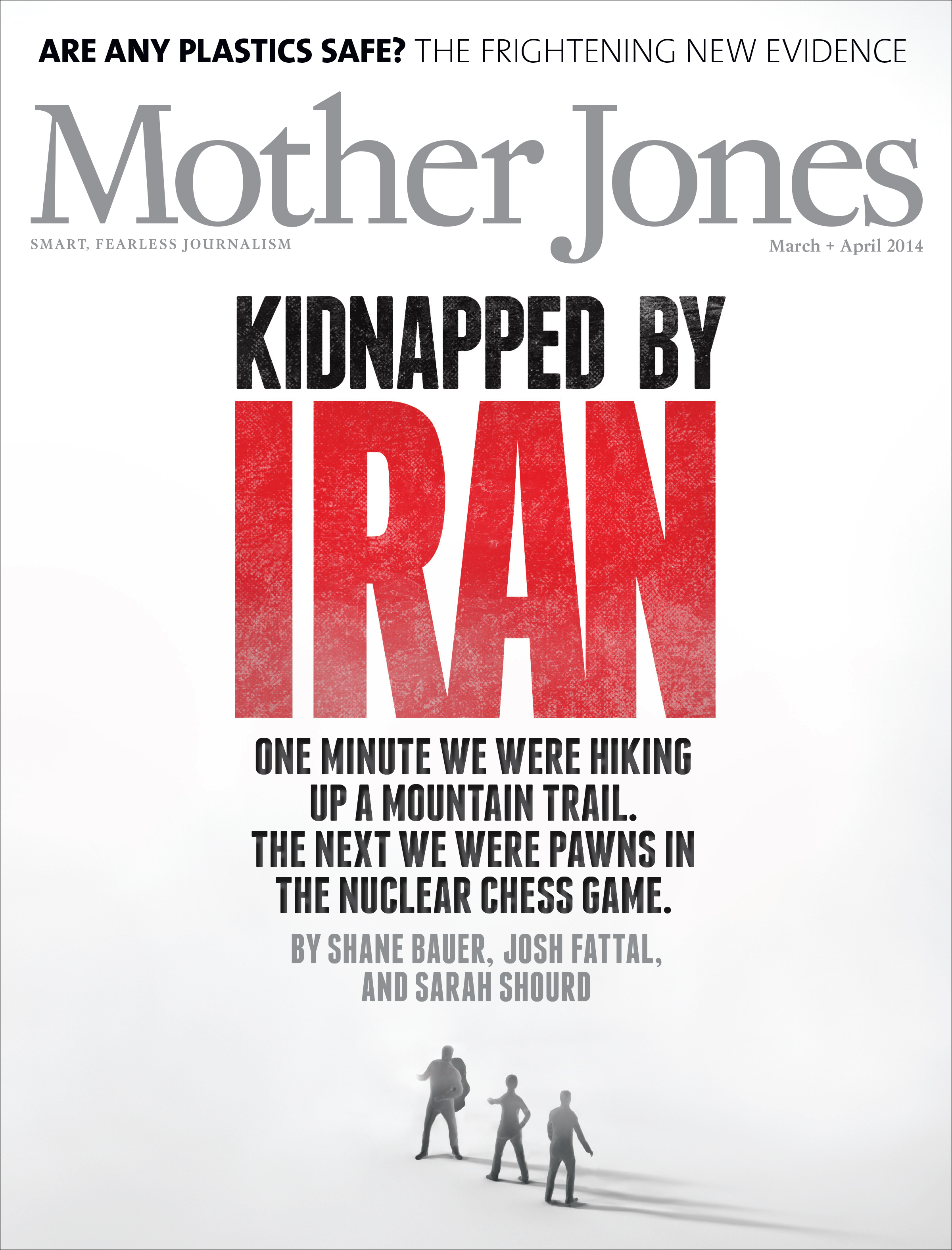 Mother Jones Magazine Cover : March + April 2014
