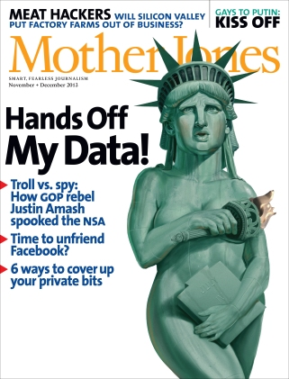 Mother Jones November/December 2013 Issue