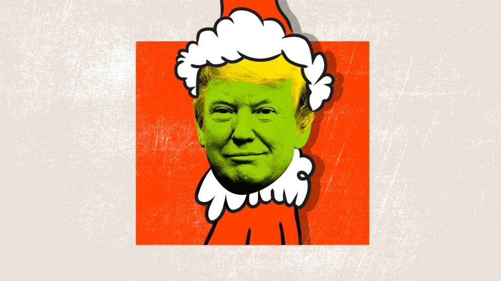 Trump grinch