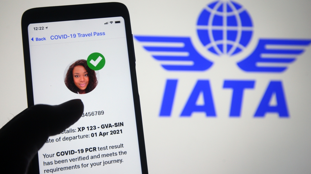 image of IATA Travel pass