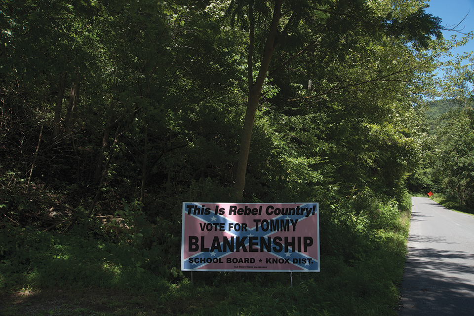 Tommy Blankenship campaign sign