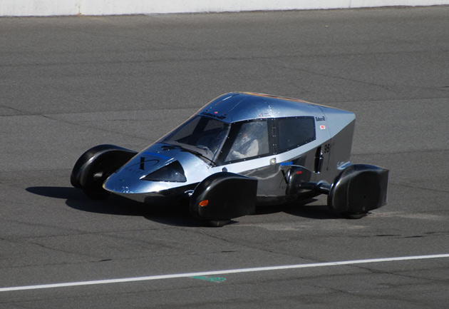 A Very Light Car competes for the X Prize.