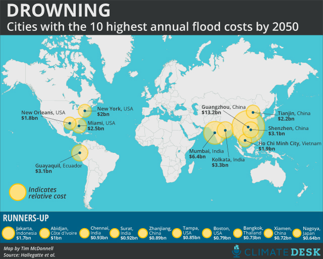 flood costs map
