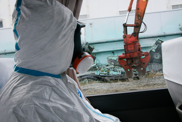 International Atomic Energy Agency (IAEA) team examines tsunami damage at Fukushima Daiichi Nuclear Power Plant Giovanni Verlini / IAEA via Flickr
