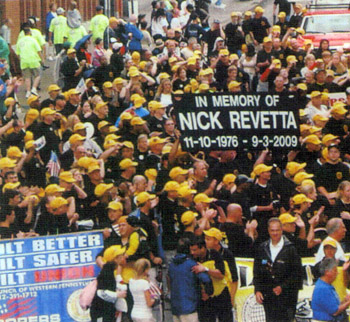 Labor Day memorial parade for Nick Revetta: Courtesy of Patrick Revetta