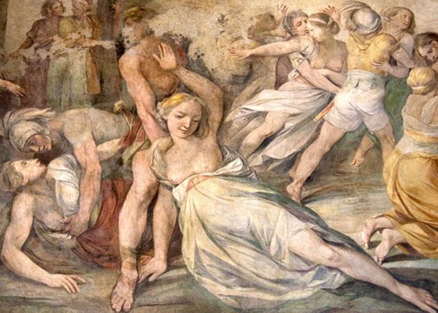 Rape of the Sabine Women, by Giuseppe Cesari.  Dirk Huijssoon/Fotopedia