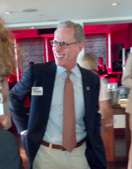 Former GOP presidential candidate and full-time Mitt Romney troll Fred Karger.