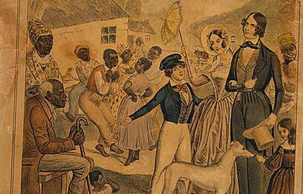 Slaves and their masters: BFF 4lyfe!  Edward Williams Clay/Library of Congress