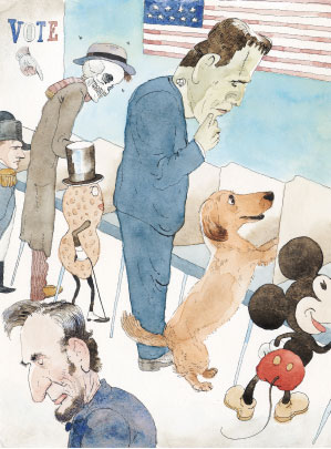 Illustrations by Barry Blitt