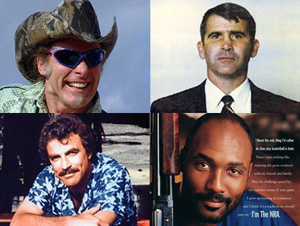 Who's on the NRA board? Tom Selleck, Ted Nugent, Karl Malone, Grover Norquist…