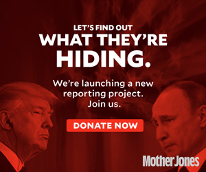 Let's find out what they're trying to hide: please donate to Mother Jones